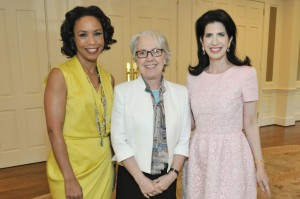 Chair Gina Gaston Elie, Dr. Wendy Mogel and Chair Dr. Kelli Cohen