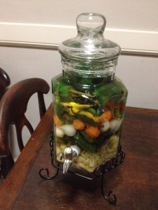Vegetable Infused Vodka