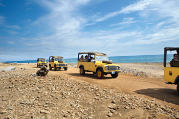 A bumpy, yet unforgettable jeep tour down the coast.