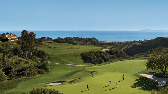 The rolling hills and the golf course make this destination incredibly scenic.