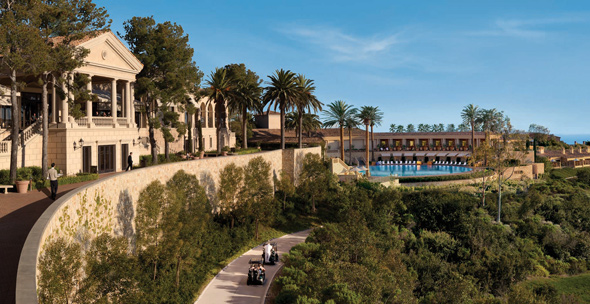 The luxurious and Mediterannean-inspired Pelican Hill.