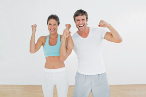 Fit-Couple-Laughing