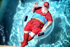 Swim with Santa at the JW Marriott San Antonio