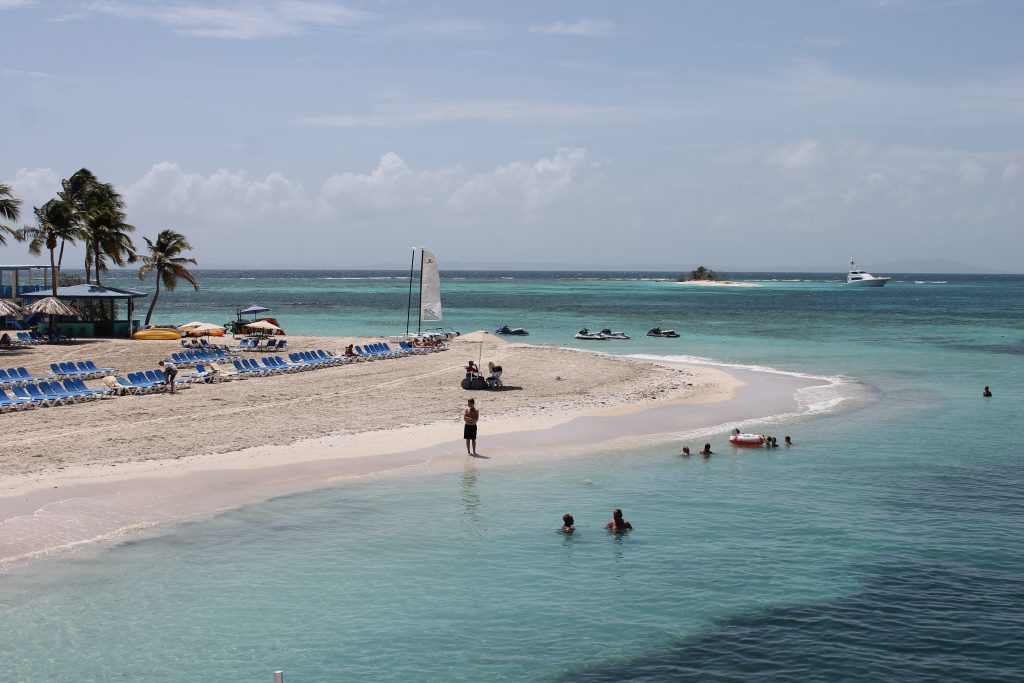 Private Beach at the El Conquistador