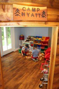 kids play at Camp Hyatt